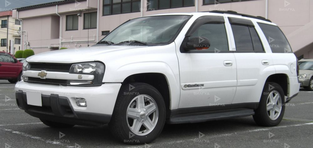 Диагностика ошибок сканером Chevrolet Trailblazer